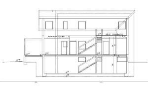 Διώροφη κατοικία με υπόγειο